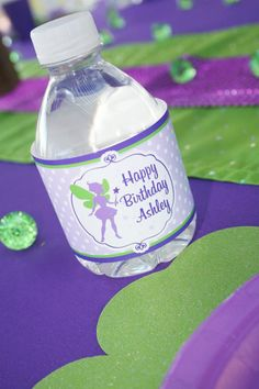 Tinker Bell Fairy Themed 7th Birthday Party