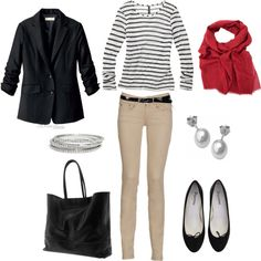 Transitional Look, created by bluehydrangea on Polyvore