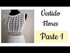 Crochet Summer Dresses, Crochet Summer Tops, Vanessa Montoro, Crochet Woman, Knit Crochet, Knitting Videos, Crochet Patterns, Summer Outfits, Wedding Dresses