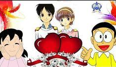 All Romantic Nobita Shizuka Love Wallpaper and Nobita Shizuka Images Cartoon Wallpaper Hd, Cute Baby Wallpaper, Romantic Cartoon Images, Doremon Cartoon, Doraemon Wallpapers, Cute Love Cartoons, Romantic Love, Cute Babies, Wedding Photos