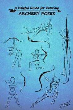How to draw: Archer / Archery stances