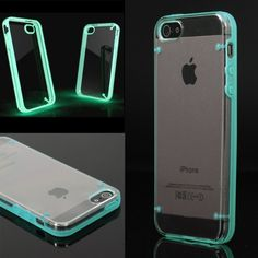 Glowing Case Cover For iPhone 5 This stylish cool luminous iphone case is specially designed for iPhone fans; It is made of high quality PC plastic, and gives you a comfortable smooth feeling when holding your iphone; it is never been a better way to show off your iphone, and make your iphone stands out from others.