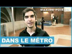 Max - Dans le métro - :P Yé juste bin awesome lui! Pis l'métro aussi!
