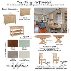 WhiteWood Industries' #TransformationThursday! #UnfinishedFurniture #WhitewoodIndustries #WhitewoodFurniture