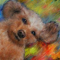 nodasanta 愛犬ティアモの絵をタブレットからアップします!  PetSmile