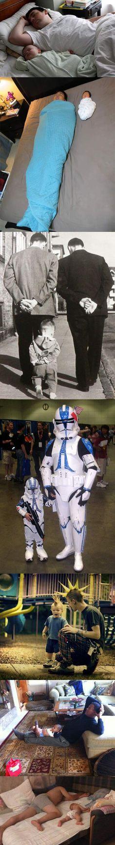 Like son, like father. :)
