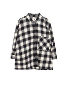 Checked cropped shirt - Shirts - Blouses & shirts - Clothing - Woman - PULL&BEAR Ukraine