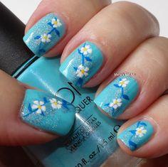 nail+art+blue | Marias Nail Art and Polish Blog