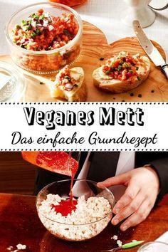 Veganes Mett kommt geschmacklich erstaunlich nah ans Original heran. #vegan