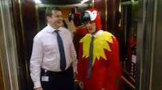 Meeting people in the lift wasn't Robbie's favourite part of the day. You could say it made him sick as a… Fund Accounting, Sick, People, People Illustration, Folk