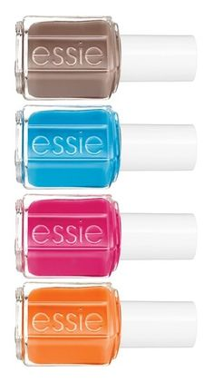 Fun four-pack of summer nail polishes.