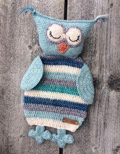 By Ann: Cuddly Owl Ragdoll Free (Dutch) Pattern