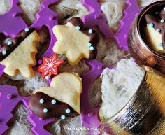 Biscotti di Natale vaniglia, arancia e cioccolato
