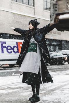 Tendance Mode - Stylée et au chaud tout l'hiver grâce au layering !