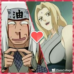 I think at the end Tsunade was in love with Jiraiya but he could not admit it to herself , but maybe if he had not died one day they could be together...
