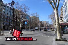 Passeig de Gràcia, Barcelona. Grup Actialia ofrece sus servicios en Barcelona: Diseño web, Diseño gráfico, Imprenta y Rotulación. www.grupoactialia.com