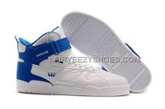 timeless design f3d0c 83223 Supra Bleeker White Blue Men s Shoes, Price   69.00 - Air Yeezy Shoes