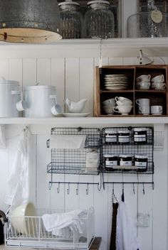 Love this simple kitchen.