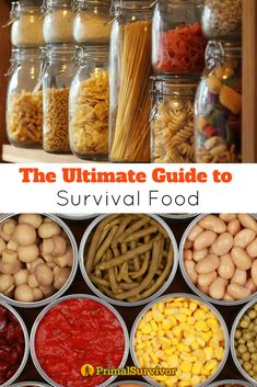 Primal Survivors guide to Survival Food. We guide you through starting your emegency food stockpile, advising your what foods to add and what foods you can make yourself and how to efficiently store your food. #survival #foodstockpile #shtf #survivalfood #howtostore #DIY #MREs #primalsurvivor