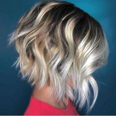 Popular Bob Hairstyles 2019: In this article, we will discuss some Popular Bob Hairstyles 2019 that you will like! Salt and pepper angled bob is a great hairstyle.