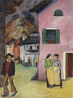 'The Incident', 1932 - Marianne von Werefkin (1860-1938)