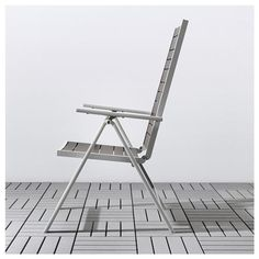 Products IKEA - SJÄLLAND Reclining chair, outdoor light gray foldable, dark Shrubs - the Way I Like