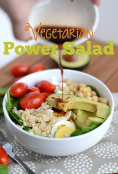 Vegetarian Power Protein Salad Recipe