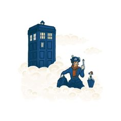 Get This Parody Doctor Who / Mary Poppins Design now at TeeFury.com! Available in Men and Women's sizes.