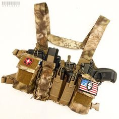 I want this chest rig from Haley Strategic. A good way to defend ones self and family in disruptive environments