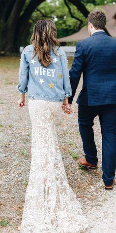 Wedding Dress Shopping, Best Wedding Dresses, Boho Wedding Dress, Boho Dress, Lace Skirt, Sequin Skirt, Wedding Jacket, Our Wedding, Wedding Bride