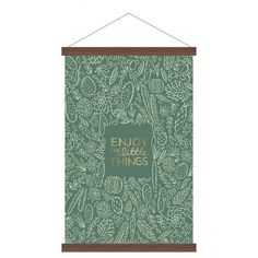 Enjoy the Little Things Banner 16 Home Living Room, Ferns, Little Things, Things To Buy, Sweet Home, Banner, Wall Decor, Kids Rugs, Display