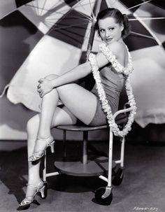 Eleanore Whitney - c.1936 (via)