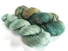Yarn Set. Changeling Osiris. Mermaids por SolsticeYarns en Etsy