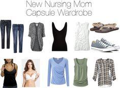 New Nursing Mom Capsule Wardrobe