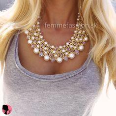 Náhrdelník Lollie Pearls  http://femmefashion.sk/nahrdelniky/2359-nahrdelnik-lollie-pearls.html