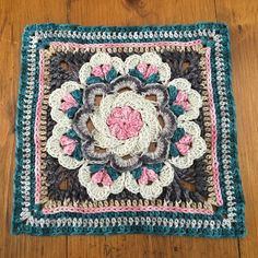 Nuts About Squares Crochet Pattern #freepattern #crochet