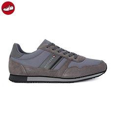 Tommy Hilfiger FM0FM00979 Sneakers Herren Gewebe Grau 40 - Tommy hilfiger sneaker (*Partner-Link)