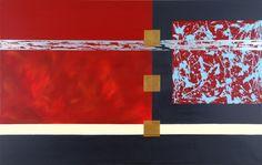 'Beginning' Acrylic on canvas