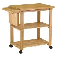 Winsome Utility Cart With Cutting Board