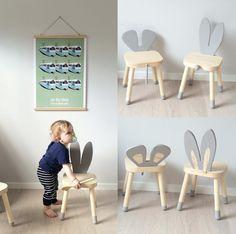 make a children's rabbit chair - Ikea DIY - The best IKEA hacks all in one place Hacks Ikea, Ikea Furniture Hacks, Cheap Furniture, Kids Furniture, Furniture Design, Discount Furniture, Furniture Movers, Bedroom Furniture, Ikea Hack Kids