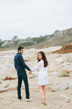 Matt + Ashley's Carmel Beach Engagement — Margaret Austin Photography