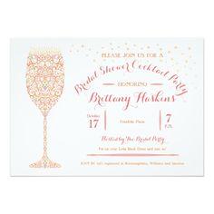 Pop the champagne bridal shower invitations mimosa brunch for Champagne brunch bridal shower