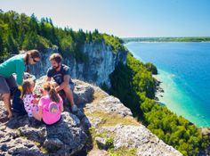 Hiking the Bruce Trail in Bruce County on the Bruce Peninsula