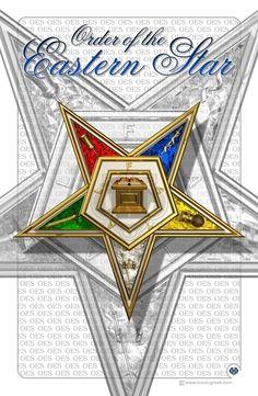 "Order of The Eastern Star 11"" x17"" Art Print | eBay"