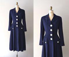 European Tour coat / vintage 1940s coat / vintage by DearGolden, $325.00