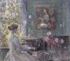 Childe Hassam   Improvisation, 1899