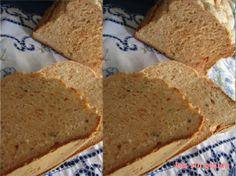 pan rustico de tomate y orégano en panificadora Silver Crest de Lild 3 Bread Maker Recipes, Rustic Bread, Pan Bread, Sans Gluten, Empanadas, Gluten Free Recipes, Banana Bread, Cooking, Desserts