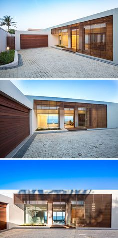 This new home was designed to capture 180° panoramic sea views