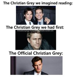 I wouldve LOVED Ian as Christian but after seeing Charlie in SOA he wouldve killed it as Mr Grey <3 Jamie did good but i wasnt in love w the character on screen as i was with Christian in the book.