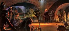 "Take a look back at Ralph McQuarrie's incredible concept art for the 1983 sci-fi epic ""Star Wars: Return of the Jedi,"" which celebrates its 30th anniversary this year."